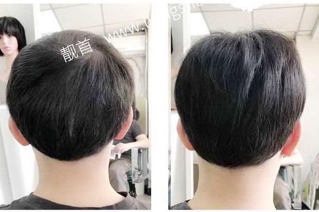 """顾客自述:""""真头发假发套""""令我焕然一新"""