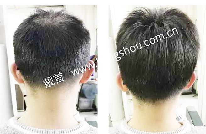 """顾客自述:""""假发真发套""""令我发量增加变发型"""