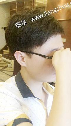 自由式-短发-发块-男织发补发案例