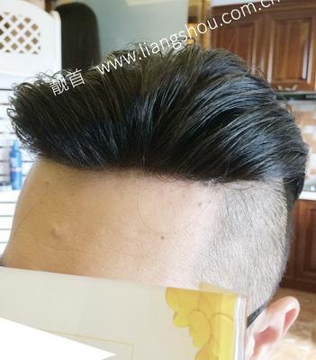 织发能做背头吗